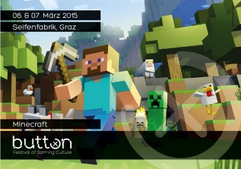 1. und 2. April 2016: Das BUTTON 2016 Festival of Gaming Culture in der Seifenfabrik Graz